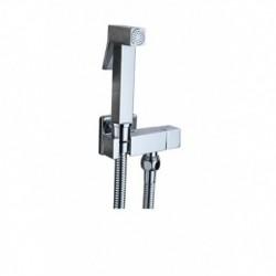 Гигиенический набор KAISER SH-349 (хром) мет.с краном/квадрат