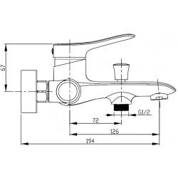 Смеситель Kaiser Linear 59177