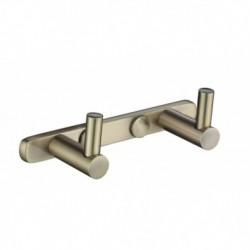 0022 Планка KAISER с 2-мя крючками Bronze