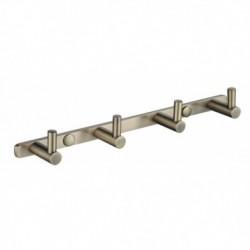 0024 Планка KAISER с 4-мя крючками Bronze