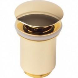 8011Gold Донный клапан KАISER автомат (золото)