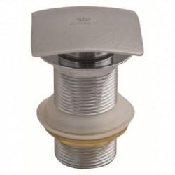 8034 Донный клапан KАISER автомат, квадрат, с переливом